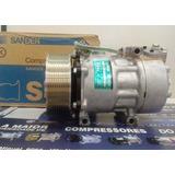 Compressor 7h15 8295 Caminhao Scania 2013 2014 Novo Original
