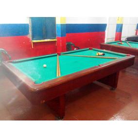 Mesas De Pool + 15 Tacos Y Juego De Bolas