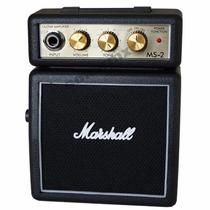 Mini Amplificador Bocina De Guitarra Electrica Marshall Ms2