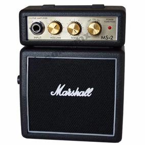 Mini Amplificador Bocina De Guitarra Electrica Marshall Ms2