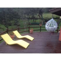 Cadeira Espreguiçadeira Para Piscina Brasil