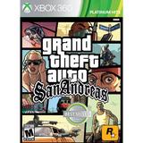 Gta San Andreas Xbox 360 Nuevo Fisico Sellado