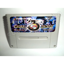 Ultimate Mortal Kombat 3 Ingles 2 Versão Super Nintendo Snes