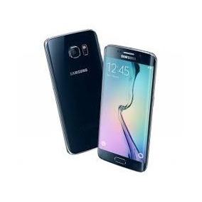 Samsung S6 Edge Azul Liberado Seminuevo En Caja 100% Funcion