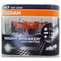 Kit 2 Lamparas H7 Osram Night Breaker Unlimited 12v 55w