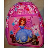 Disney Mochila Princesa Sofia Importada Pronta Entrega Nova
