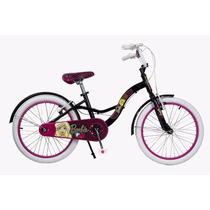 Bicicleta Rodado 20 Barbie Fav