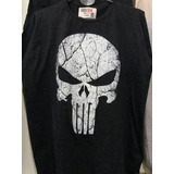 Remera Premium The Punisher Castigador Vintage