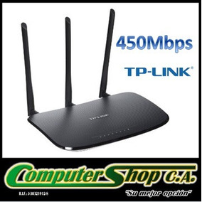Router Inalambrico De 450mbps/tp-link / Tl-wr940n/ 3 Antenas