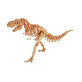 Tiranossauro Rex 55 Peças - Quebra Cabeça 3d Dinobrinque