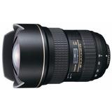 La Mejor En Nitidez! Gran Angular Zoom Tokina 16-28mm F/2.8