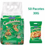 150 Pacotes Amendoim Torrado Sem Pele Grelhaditos 30g
