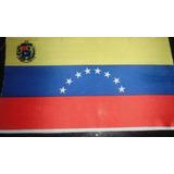 Bandera De Venezuela Cortada Sin Coser Grande Venex