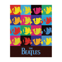 Poster Auto Colante - The Beatles (90cm X 64cm)