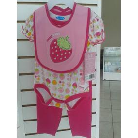 Conjunto De Pantalon De 3 Piezas Niña Bebe