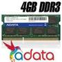 Memoria Ram Adata Ddr3 4gb Para Portatil