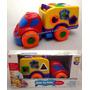 Brinquedo Educativo Caminhão Com Peças Geométricas Divertoys