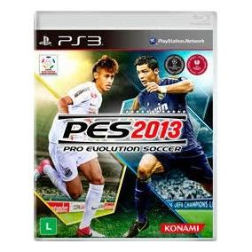Pes 2013 Ps3 Pro Evolution Soccer Midia Fisica Lacrado