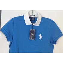 Bonita Blusa Tipo Polo Para Dama Ralph Lauren Original