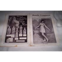 Mundo Uruguayo.antigua Publicacion De Uruguay.1920.