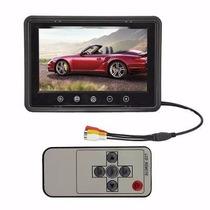 Tela Monitor 10 Polegadas P/câmera Ré ,dvd,cftv Dvr, Encosto