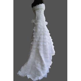 Hermoso Vestido De Novia Talla 6 (small)