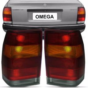 Par Sinaleira Traseira Omega Sedan Gl Gls 93 A 98 Tricolor