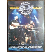 Bruno & Marrone Acustico Ao Vivo Dvd Lacrado Original