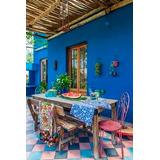Latex Color Azul Interior-exterior Preparado X 4 Lts