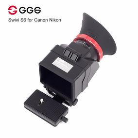 Viewfinder Ggs Swiv S6 Para Canon Ou Nikon Top Da Marca