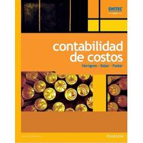 Libro: Contabilidad De Costos - Horngren, Datar - Pdf