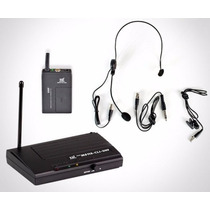 Microfone S/fio Headset Ms115 Cli-uhf C/lapela - 5842