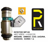 Inyector Clio Symbol Scenic Megane Kango Laguna 1.6 Renault