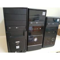 Abaixou!! Computador Desktop Core 2 Duo 2gb Hd160gb - Dvdrw