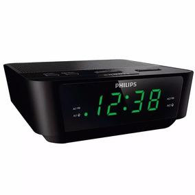Radio Relogio Philips Fm Digital Aj3116 Despertador Alarme