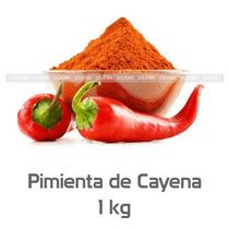 Pimienta Cayena Original Chile Cayene Especia 1kg 2clicmx