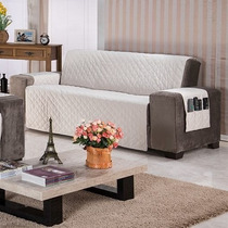 Capa Protetor Sofa Sob Sobre Medida 3 Lug Retrátil 2,80x1,90