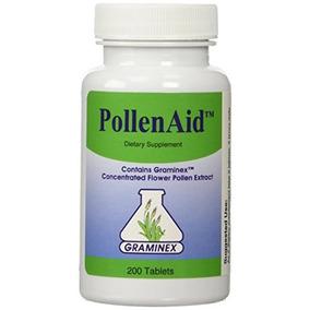 Pollenaid Flor Extracto De Polen De Graminex - 200 Tabletas