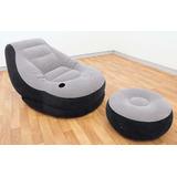 Recreación Intex Ultra Lounge Con Otomana