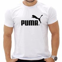 Camiseta - Blusa Puma - Ótima Qualidade -100% Algodão