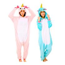 Kigurumi Unicornio Pijamas Kawaii Moda Japonesa Anime Cospla