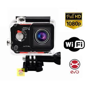 Câmera Filmadora Ação 12mp Full Hd Xtrax Evo Wifi Display