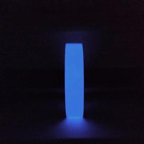 Fita Adesiva Fotoluminescente Azul 5 M X 2 Cm Fosforescente