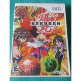 Bakugan - Battle Brawlers - Fisico / Nintendo Wii - Wii U