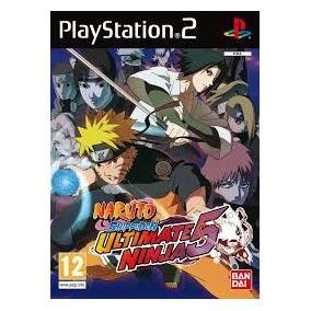 Patch Jogo Ps2 Naruto 5 Frete Grátis