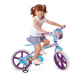 Bicicleta Aro 14 X-bike - Frozen Disney - Bandeirante
