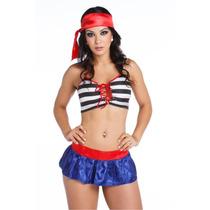 Fantasia Pirata Erótica Sensual Sexy Feminina Intima Mulher