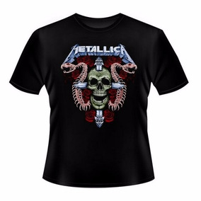 Camiseta Banda Metallica - Mod.73