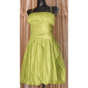Lilasori Vestido Talla 36 Importado Aspeed Verde Manzana