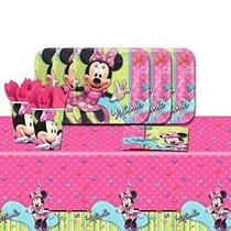 La Fiesta De Cumpleaños Vajilla Paquete De Disney Minnie Mou